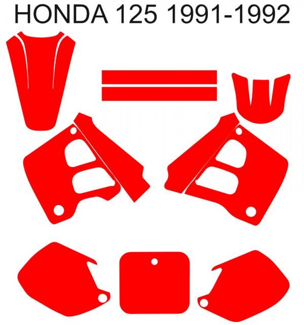 Molde - Honda CR 125 1991-1992