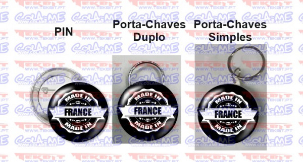 Imagens Pin / Porta Chaves - Made in france