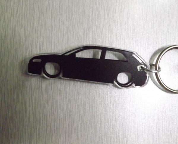 Porta Chaves de Acrílico com silhueta de Audi A3