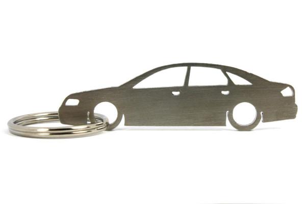 Porta Chaves em inox com silhueta com Audi A6 C5