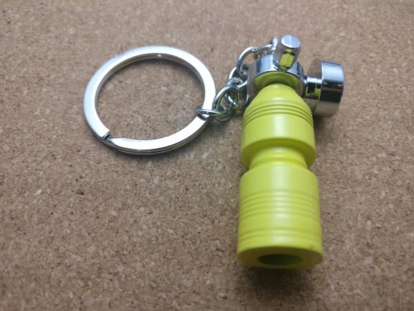 Porta Chaves - Garrafa Nitro - Amarelo