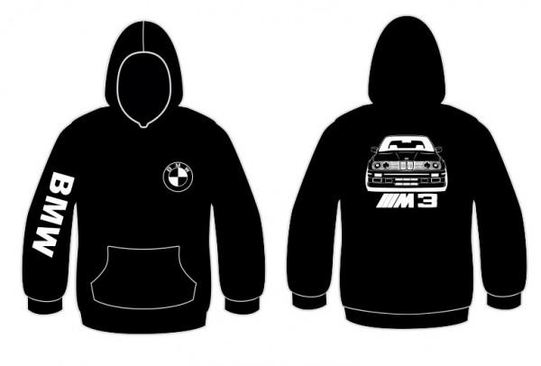 Sweatshirt com capuz BMW e30 m3 Frente