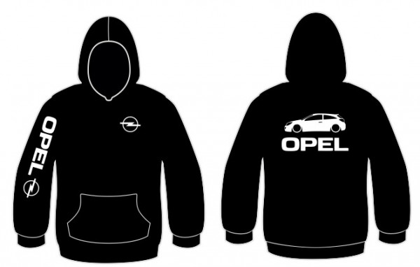Imagens Sweatshirt com capuz para Opel Astra H