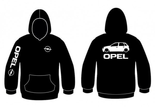 Imagens Sweatshirt com capuz para Opel Corsa C