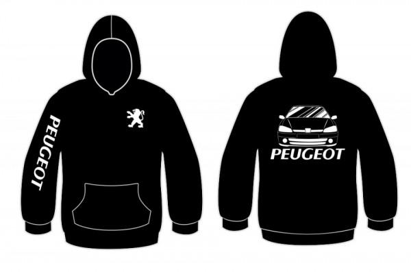 Imagens Sweatshirt com capuz para Peugeot 106 mk2