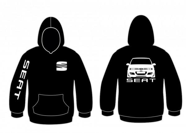 Sweatshirt com capuz para Seat Leon 1M