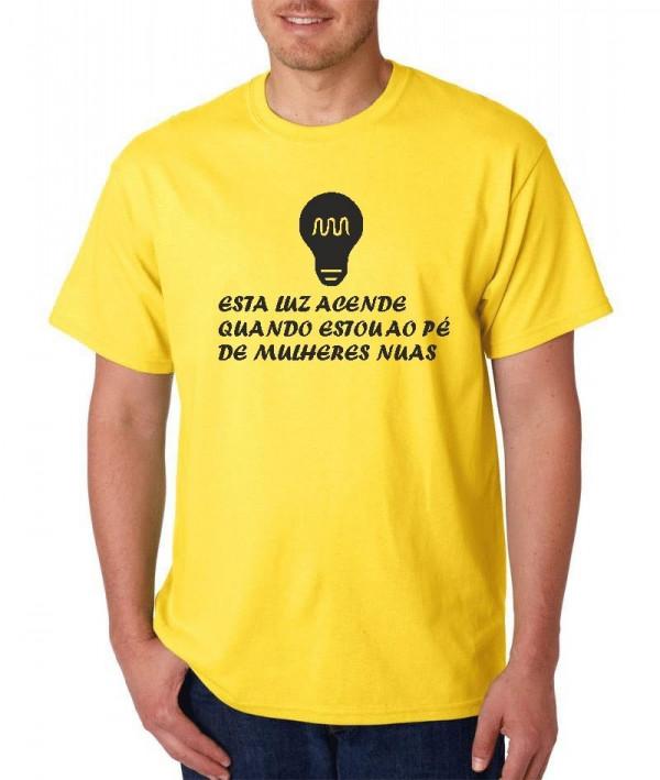 Imagens T-shirt  - Esta luz acende