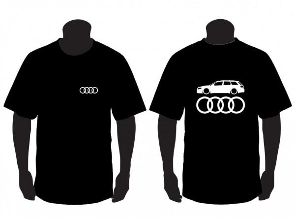 Imagens T-shirt para Audi A4 B7 Avant Lateral