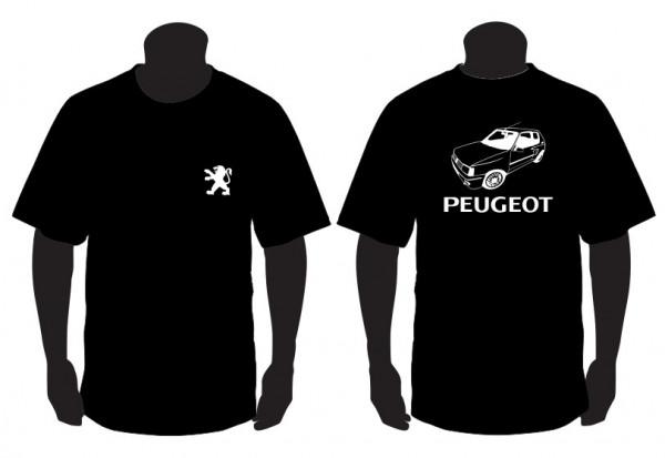 Imagens T-shirt para Peugeot 205