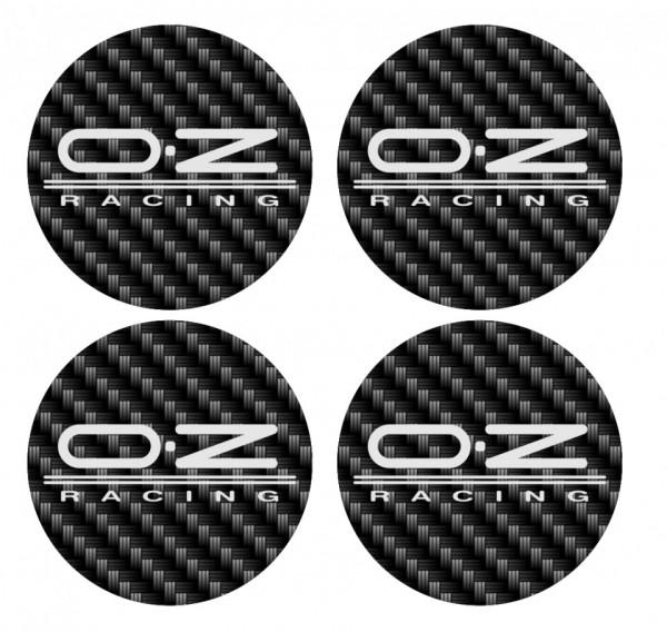 Imagens 4 Autocolantes Para Centros de Jantes com OZ Racing