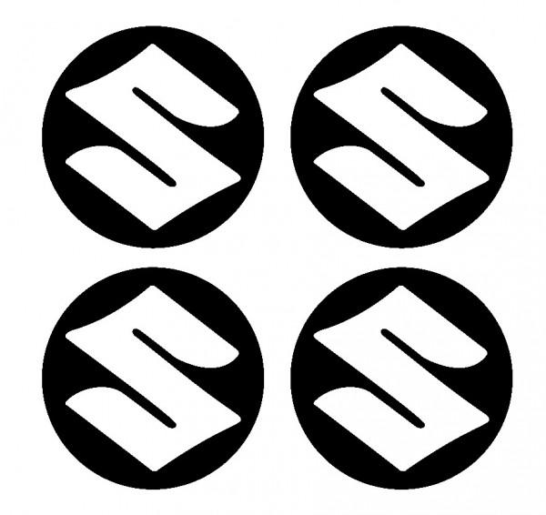 Imagens 4 Autocolantes Para Centros de Jantes para Suzuki