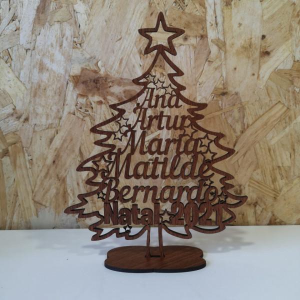 Árvore de Natal com Nomes