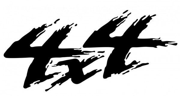 Autocolante - 4x4