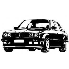 Autocolante - Bmw E30
