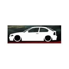 Autocolante - BMW E46 Compact