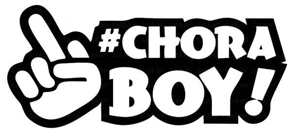 Imagens Autocolante - Chora Boy