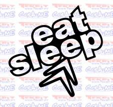 Autocolante - Eat Sleep Citroen