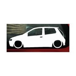 Autocolante - Fiat Punto 3 portas