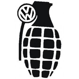 Autocolante - Granada Volkswagen