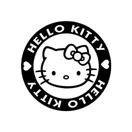 Autocolante - Hello Kitty 3