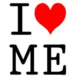 Autocolante - I Love Me