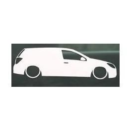 Autocolante - Opel Astra H Van