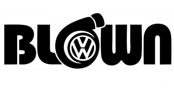 Imagens Autocolante para VW com Blown