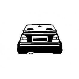 Autocolante para VW Golf Mk2 Cabriolet