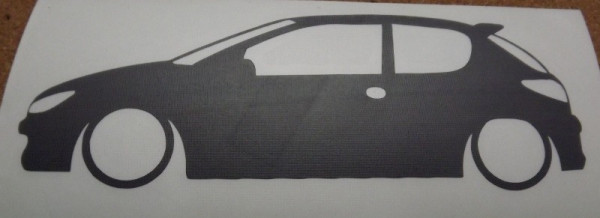 Autocolante - Peugeot 206