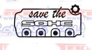 Autocolante - Save the sohc.