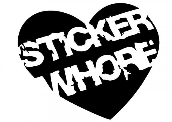 Imagens Autocolante - Sticker whore