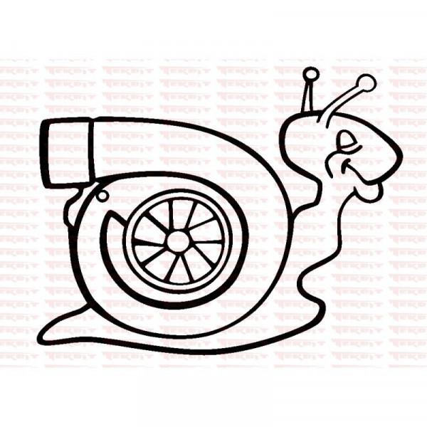 Autocolante - Turbo 5