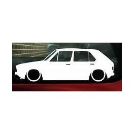 Autocolante - Volkswagen Golf I