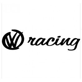 Autocolante - VW Racing