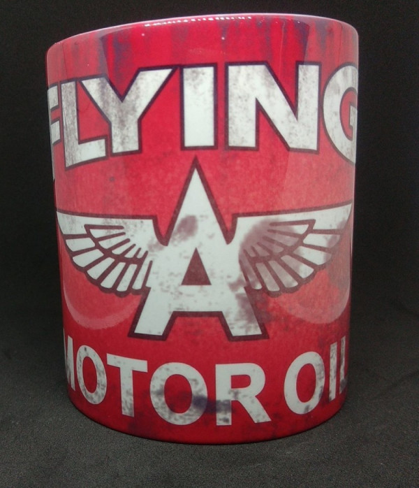 Caneca com Flying Motor Oil