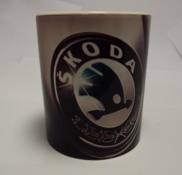 Caneca com Skoda