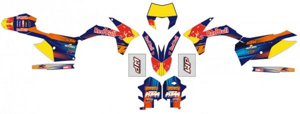Kit Autocolantes Para KTM EXC XC XCF 2012 2013