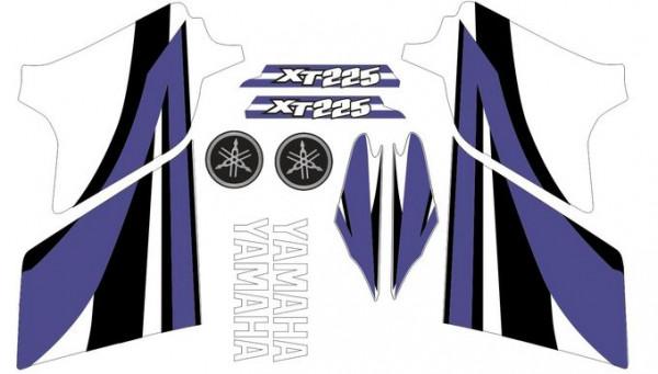 Imagens Kit Autocolantes Para Moto - YAMAHA XT 225 2007
