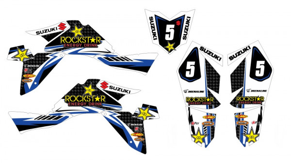 Imagens Kit Autocolantes Para Suzuki LTZ k9 400 07-16