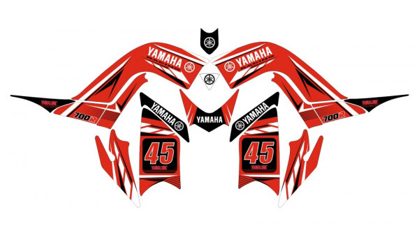 Imagens Kit Autocolantes Para Yamaha Raptor 700R