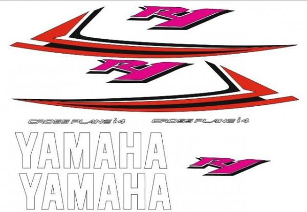 Imagens Kit Autocolantes Para Yamaha YZF R1 09-10