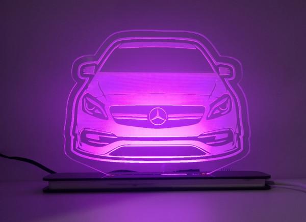 Moldura / Candeeiro com luz de presença - Mercedes A45