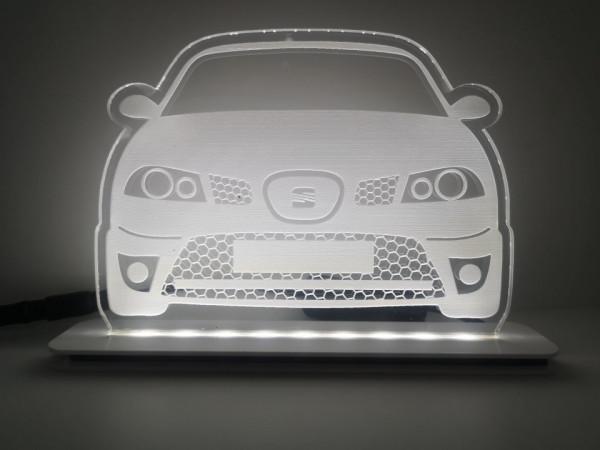 Moldura / Candeeiro com luz de presença - Seat Ibiza 6L