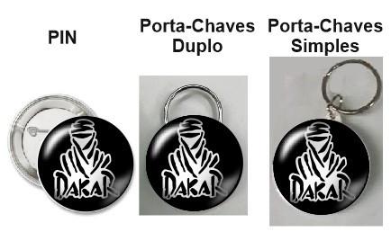 Pin / Porta Chaves - Dakar