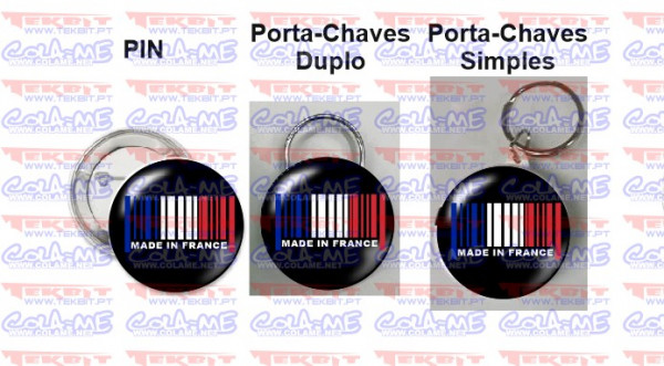 Pin / Porta Chaves - Made in france
