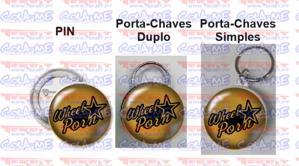 Pin / Porta Chaves - Wheel Porn