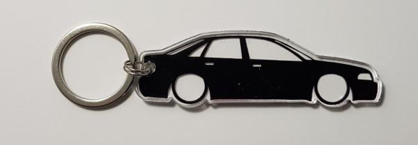 Porta Chaves de Acrílico com silhueta de Audi A4 B5