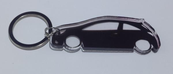 Porta Chaves de Acrílico com silhueta de Opel Corsa D