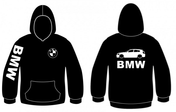 Sweatshirt com capuz para Bmw E87