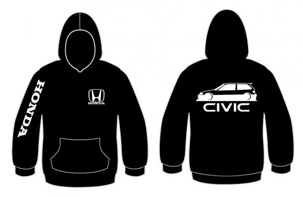 Imagens Sweatshirt com capuz para Honda Civic EF